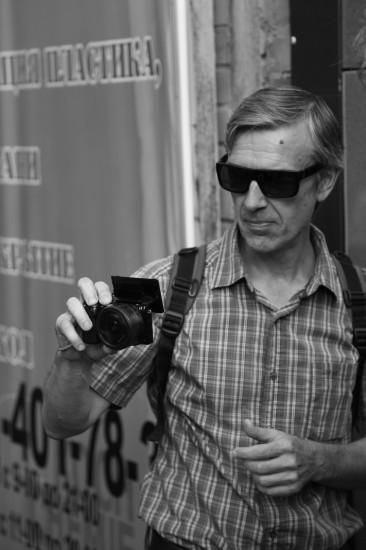 Уличный фотограф и документалист ростовской художественной жизни Андрей Крашеница
