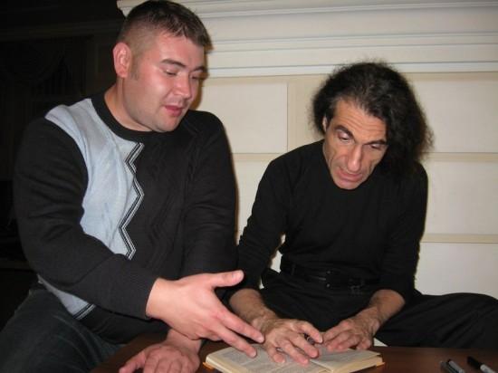 Кирилл Захаров и Юрий Наумов. Барнаул. октябрь. 2013