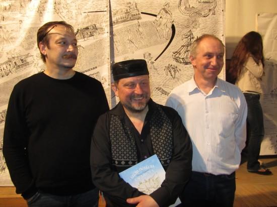 Влад Ветров, Игорь Пащенко и Владислав Протопопов. Фотографиня: Галина Пилипенко