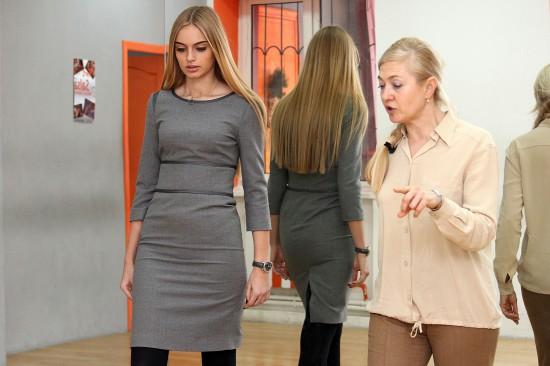 Оксана Красиловец с Машей Нестеровой на подготовке к Милану