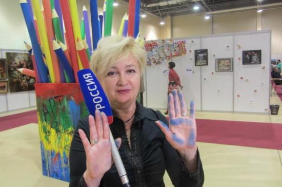 К искусству прикоснулась Галина Пилипенко.
