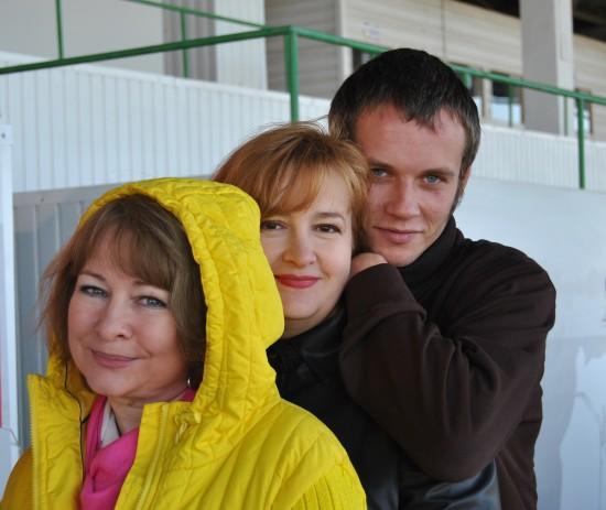 Люсико Андрейченко, Галина Пилипенко, Альберт Погорелкин. Фото: Юлия Бессмертная