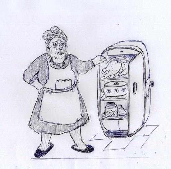Ольга Тиасто. Бабушка из Ростова
