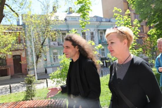 Юрий Наумов и Галина Пилипенко. Фотокарточка: Дмитрий Pasya Посиделов
