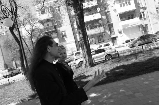 Юрий Наумов, Галина Пилипенко. Фотокарточка: Дмитрий Посиделов