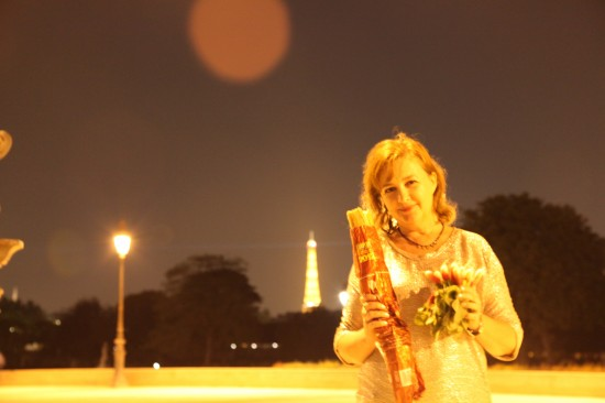 The Eiffel Tower and me Galina Pilipenko. Parisian photos.Башня  Эйфеля. Парижские фото. Галина Пилипенко