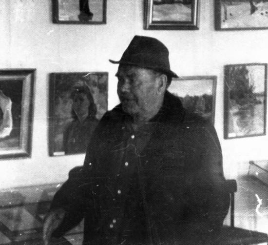 Кирилл Степанович Хныкин. Мой первый учитель живописи. Калач-на - Дону.1962 год