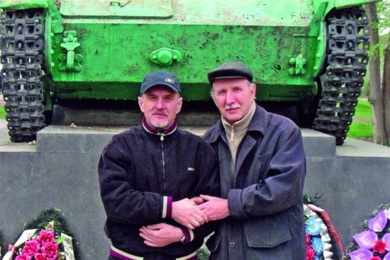 Валерий Кульченко с братом
