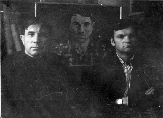 Теряев Тимофей Фёдорович со своим учеником Алексеем Соколенко. Ростов-на-Дону. 1962 год