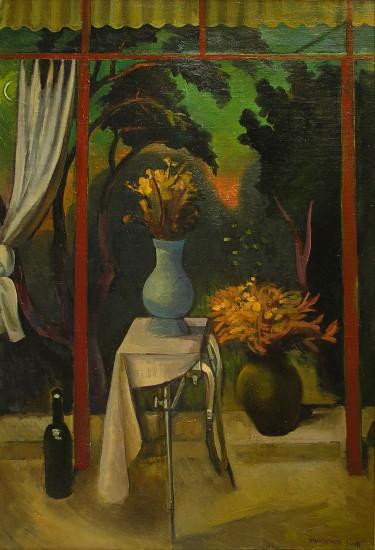 Валерий Кульченко. Ночные цветы. Холст. масло, 137х110 см,2005г.
