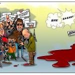 """Автор популярной карикатуры на украинскую войну и """"Шарли Эбдо"""" живет в Ростове!"""