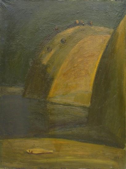 Валерий КульченкоЗолотая рыбка. Х., м. 1х65. 1976