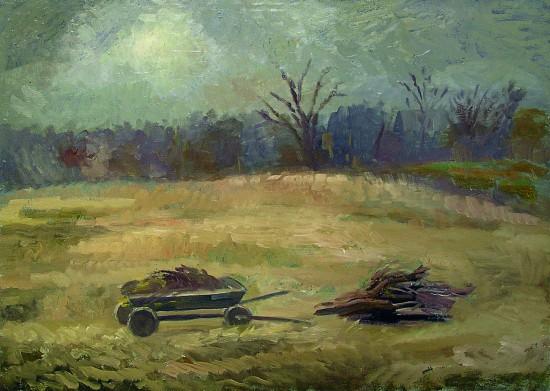 Осень. Х, м, 70х100, 2009 год
