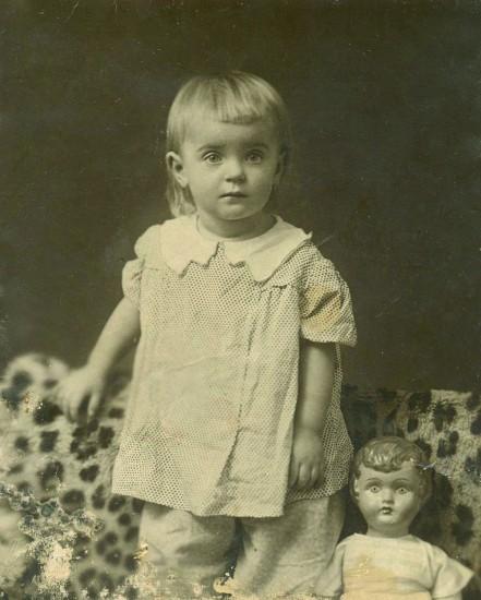 Антонина Лифанова. Ростов-на-Дону, 1937 год