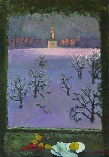 Валерий Кульченко. Последний приют. К., м. 80 х45, 2011 г.