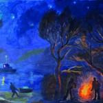 Валерий Кульченко. Острова памяти. Часть 16. Карп серебристый. 1980 год