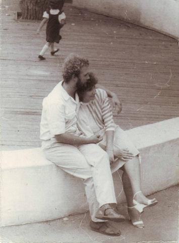 Павел Яхин и Елена Колесникова (Яхина)