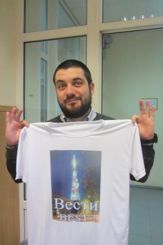 Корреспондент Георгий Стариков. фото: Галина Пилипенко