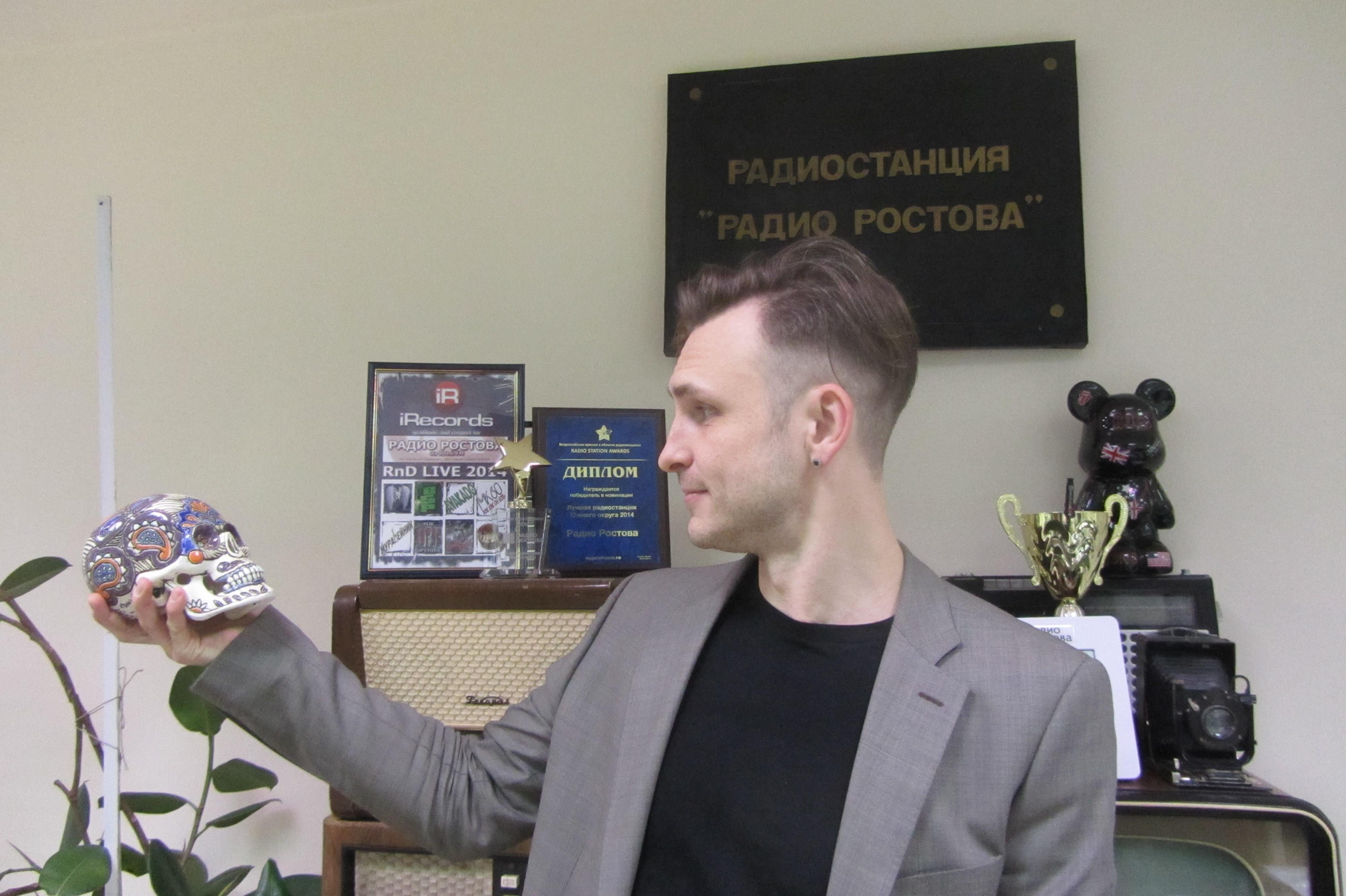 Денис Малышев. Радио Ростова. Фото: Галина Пилипенко