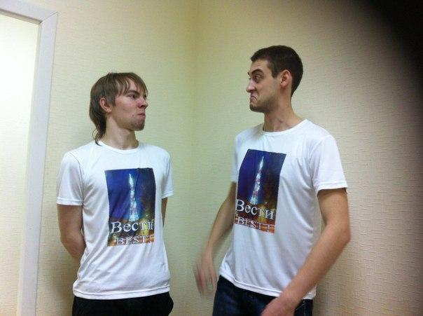 """Андрей """"Соболь"""" и Леня Лысиков. Телевидения """"Россия-ДонТР"""""""