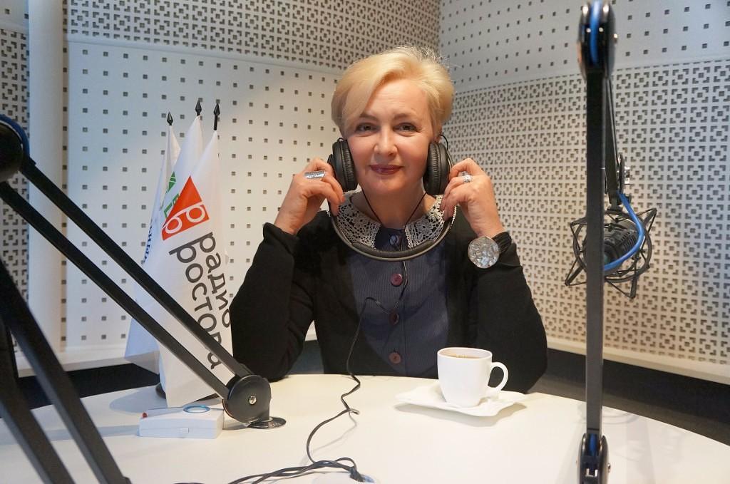 Галина Пилипенко на «Радио Ростова 101.6 FM»