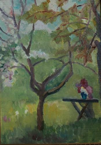 Валерий Кульченко. Дождливая весна. 50х43. Холст, масло. 2013 год