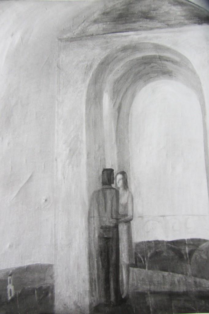 Валерий Кульченко. Голубое утро. Х.,м.123х75. 1975-1976гг.