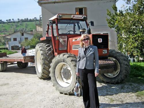 olga traktor