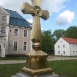 Над бывшей резиденцией Геринга засиял ростовский крест