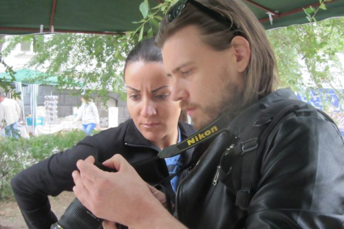 Юлия Горячева и Андрей Спиридонов. Фото: Галина Пилипенко