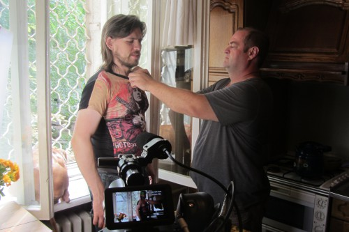 Андрей Спиридонов и Михаил Волжин. Фото: Галина Пилипенко