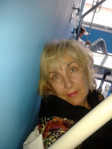 Ольга Тиасто. Селфи в больнице