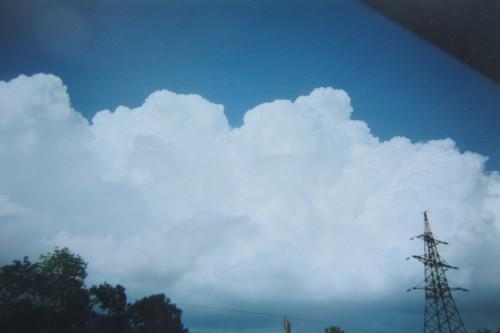 Валерий Кульченко. Облака над НЭВЗом. Фото 70-ых годов