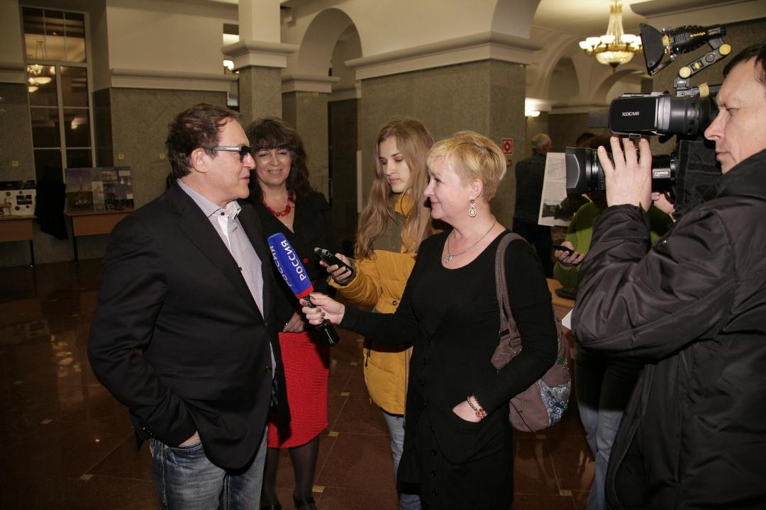 Дмитрий Дибров, Галина Пилипенко. Фото: пресс-служба РГСУ