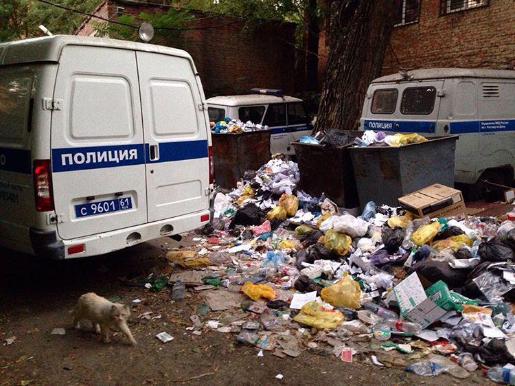Police Departament. Фотокарточка: Дмитрий Посиделов.