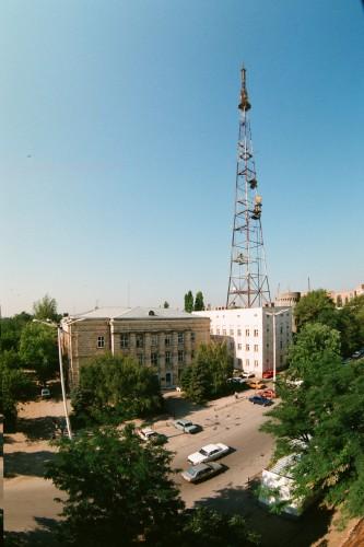 Телевышка в 1996г.