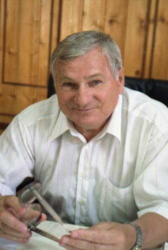 Генеральный директор Николай Чеботарёв в 1966 году