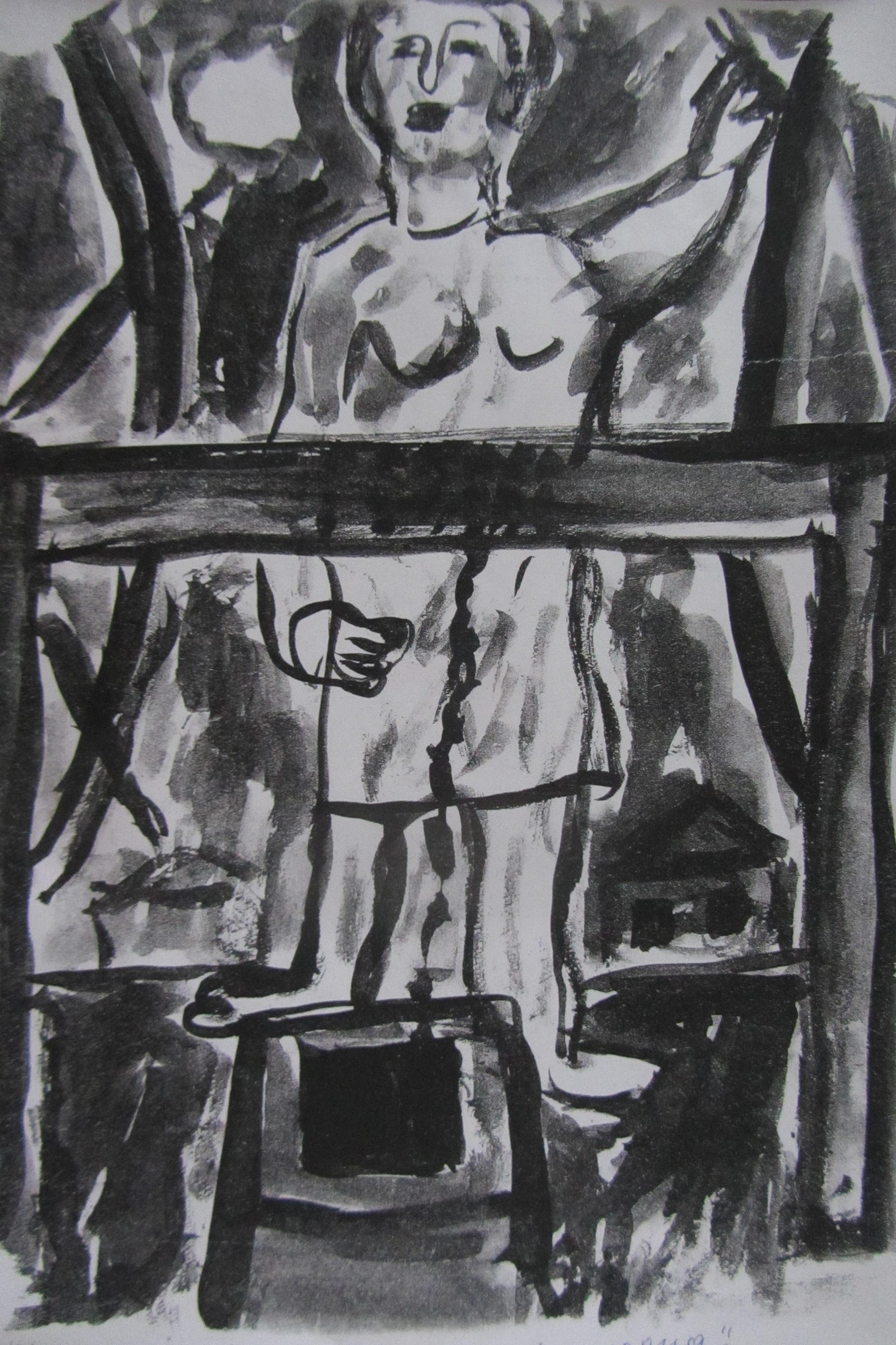 Валерий Кульченко. Ангел на окне мастерской. Острова памяти. Часть 47