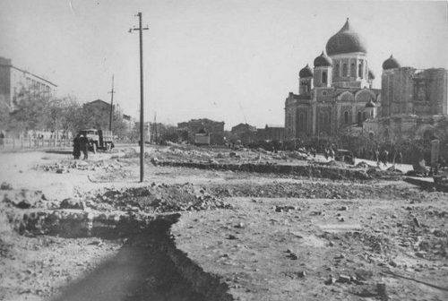 Главный собор Ростова в Великую Отечественную Войну.