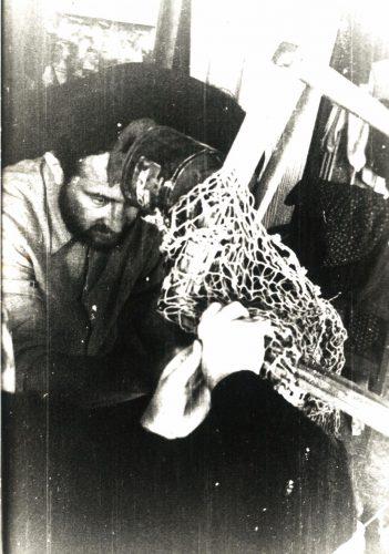 Художник Александр Жданов . Фото из архива Александры Вольвич.