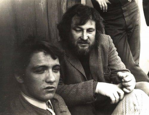 Александр Жданов (второй слева). Фото из архива Александры Вольвич.