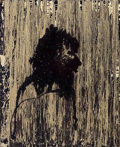 """""""Портрет Пузина"""", написанный Александром Павловичем Ждановым. 1981 г, 89х73, картон, смешанная техника."""