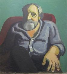 Леонид Андреевич Кабарухин. Портрет Жданова. 1995 год.