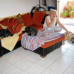 Ольга Тиасто. Собачьи хроники Абруццо. Дама с тремя собачками. Часть 2