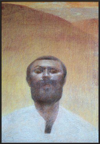Виктор Сетунов. «Портрет Валентина Картавенко» (1985 г.)