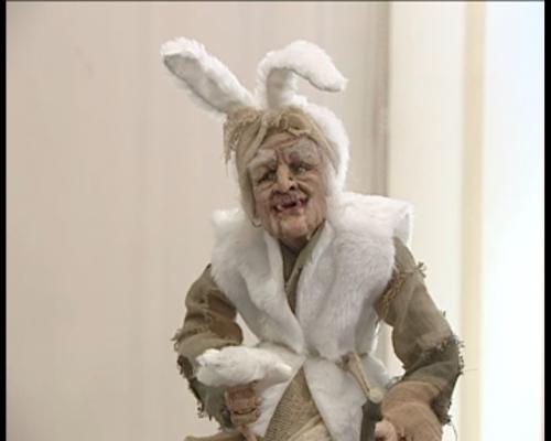 Баба Яга в Ростовской галерее кукол.