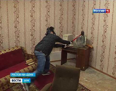 Александр Федосов в «КРУШИ-ЛОМАЙ ROOM» в Ростове