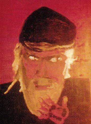 Александр Жданов. «Автопортрет». Фото из архива Ани Бражкиной (Прага).