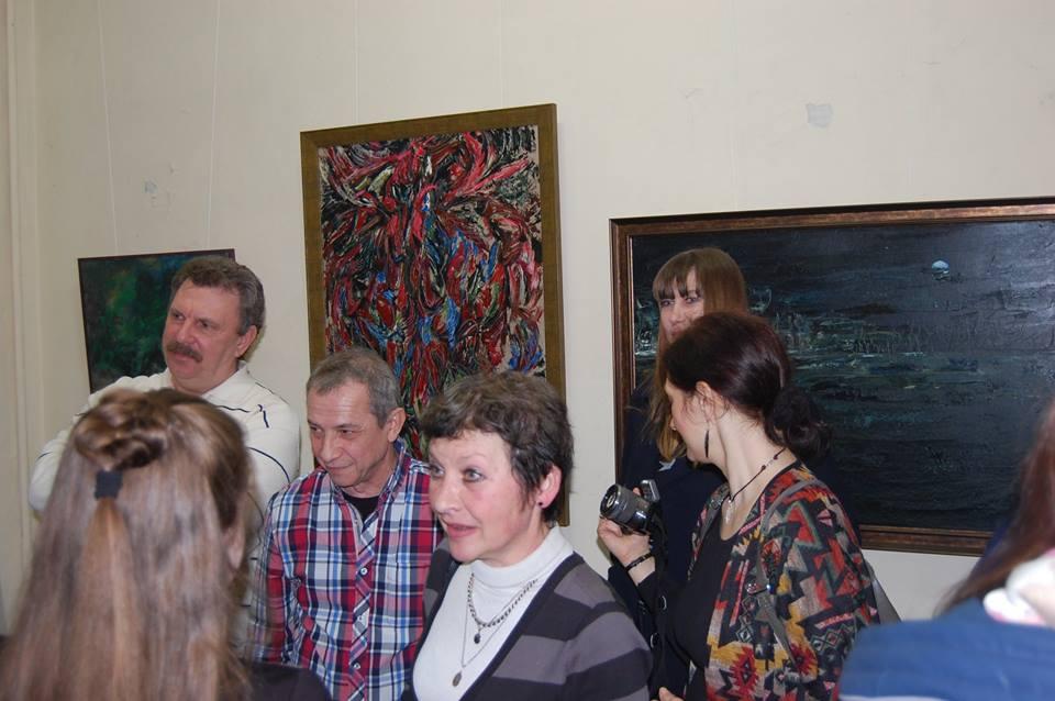 Художники Александр Кисляков и Наталья Дурицкая. Фото: Сергей Ильич