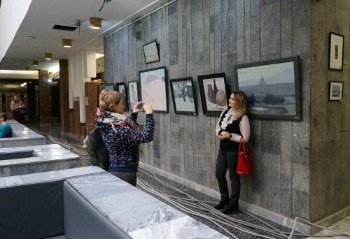 выставка живописи Виктора Сетунова в Ростове-на-Дону. Фото: Валентин Картавенко